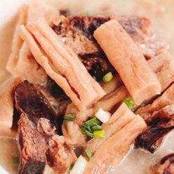 风干萝卜腊排骨汤