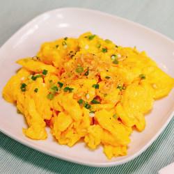 虾米炒鸡蛋