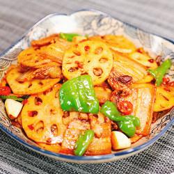 香锅莲藕五花肉