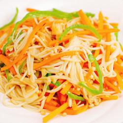 素炒金针菇