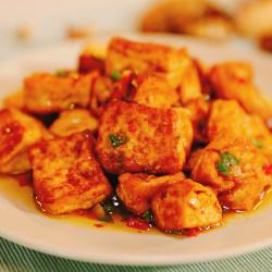 椒盐手工豆腐