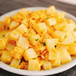 鸡蛋炒土豆