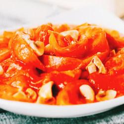 口蘑炒番茄