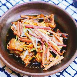 排骨煮蕨菜