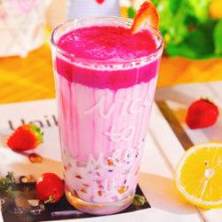 火龙果热奶