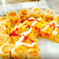手抓饼披萨