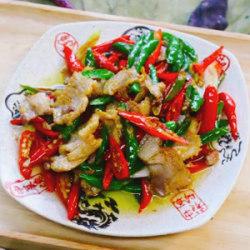 辣椒五花肉做法步骤