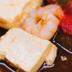 低脂豆腐鲜虾汤