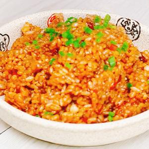 胡萝卜肉丁焖饭