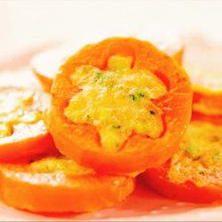 胡萝卜虾饼