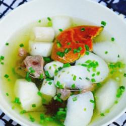 淮山萝卜牛腩汤