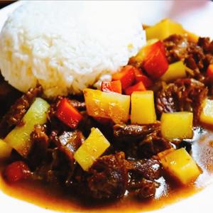 土豆牛腩饭