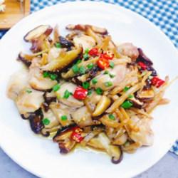 香菇榨菜滑鸡