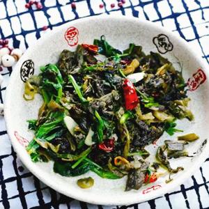 云南酸菜豌豆尖