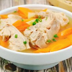 胡萝卜牛骨汤