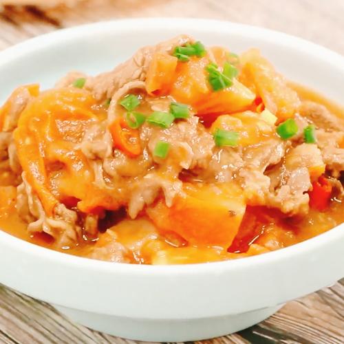 西红柿炒牛肉