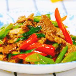 尖椒炒牛肉