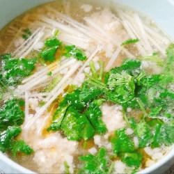 醋椒丸子汤