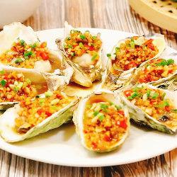 金蒜蒸牡蛎
