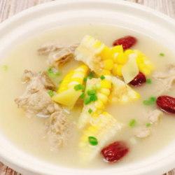 玉米脊骨汤