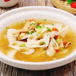 墨鱼莲藕汤