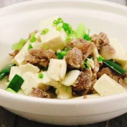 羊肉豆腐蒜煲