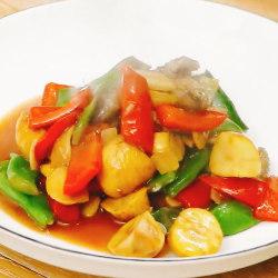 油豆板栗煨海参