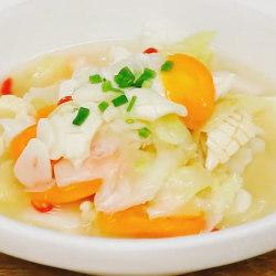 酸汤泡菜煮黄喉