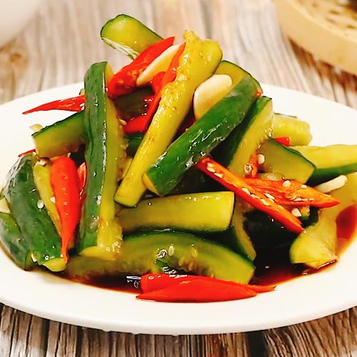 小米辣腌黄瓜