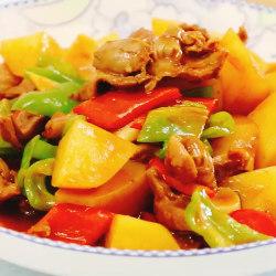鸡胗炖土豆