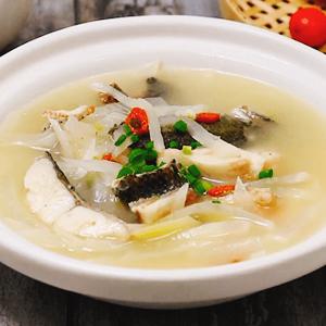 黑鱼白萝卜汤