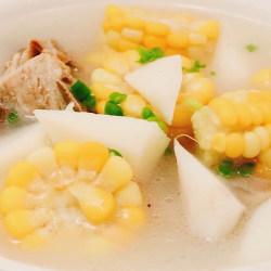 脊骨山药玉米汤