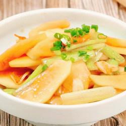 木瓜炒芹菜