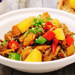 鸡肉炖土豆