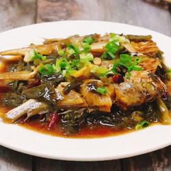 雪菜烧小黄鱼