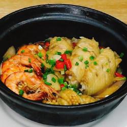 鸡翅鲍鱼虾煲