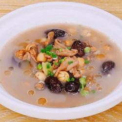 红枣莲子猪肚汤