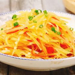 红椒拌土豆丝