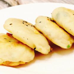 油渣葱花饼
