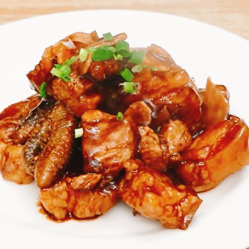 海参红烧肉