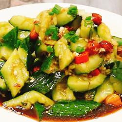 刀拍凉拌黄瓜怎么做好吃