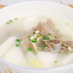 牛骨白萝卜汤