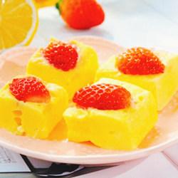 草莓酸奶蒸糕