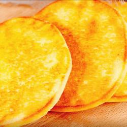 松软玉米饼