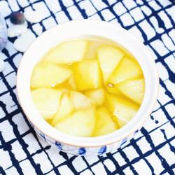 荸荠苹果糖水