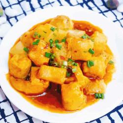 酿油豆腐焖冬瓜