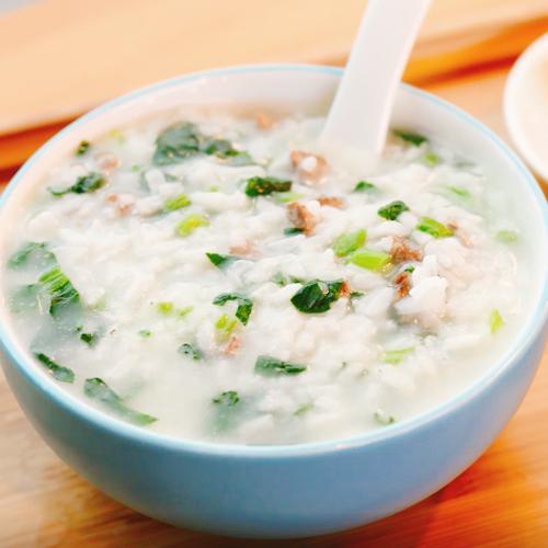 牛肉菠菜粥