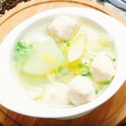 白菜冬瓜鱼丸汤