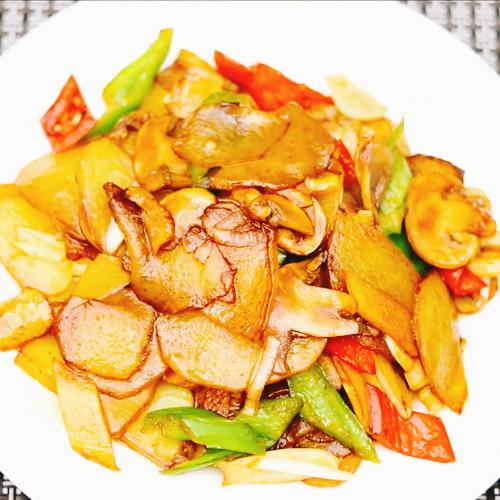 口蘑土豆片