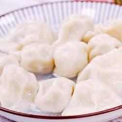 香菇韭黄饺子